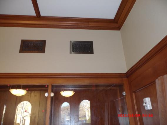 Graham Memorial Auditorium in Graham Texas. All custom door and windows made by Henderson Construction & Custom Homes.